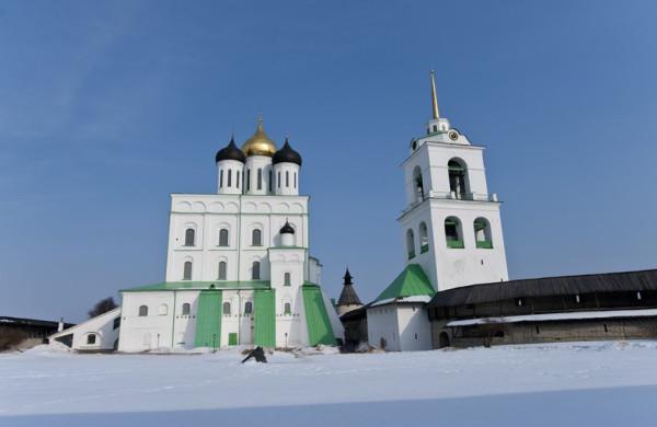 Псков Свято-Троицкий кафедральный собор