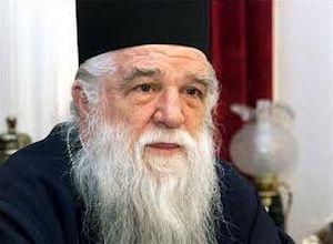 иерарх Элладской Православной Церкви митрополит Калавритский Амвросий