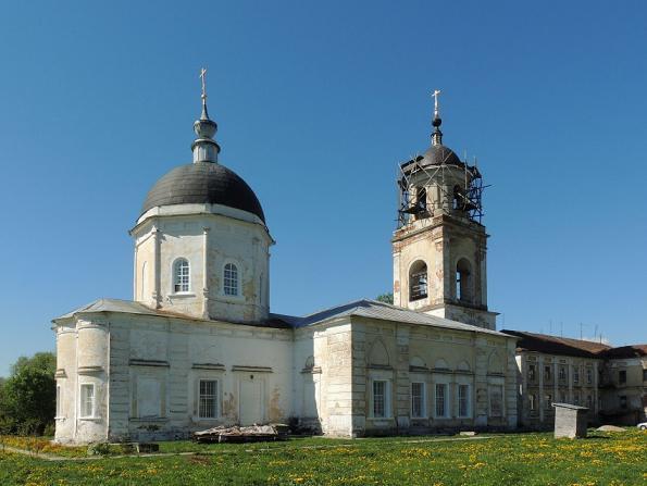 Церковь Рождества Пресвятой Богородицы - Мещерино - Ступинский район, восстанавливается