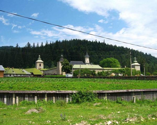 Монастырь Слатина Румыния, Жудец Сучава, Слатина