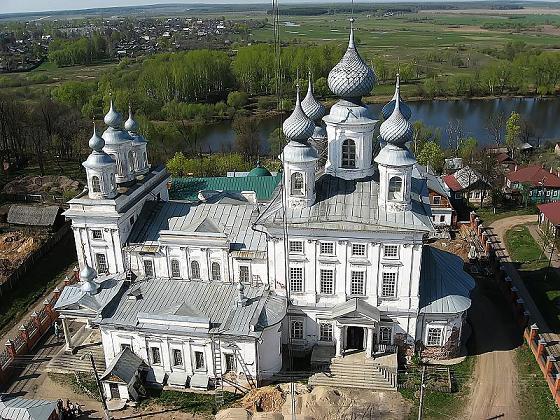 Воскресенский собор в г. Шуя, восстанавливается