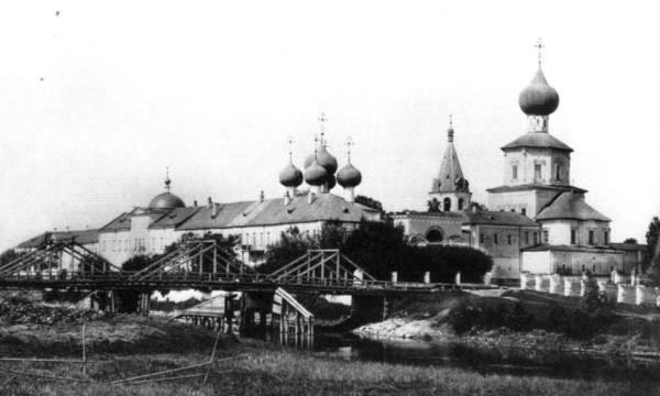 Желтиков мужской монастырь в честь Успения Пресвятой Богородицы, фото конец XIX века