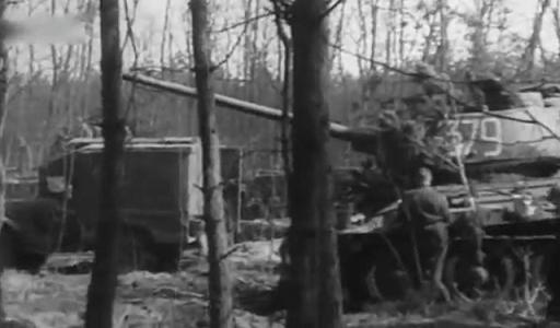 танки 9-го гвардейского танкового корпуса, Померания, март 1945 г.