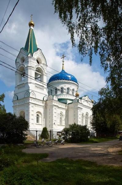 Храм Святой Троицы, с. Троицкое Истринского района