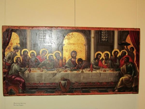 греция 1 Тайная вечеря