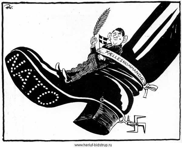 Херлуф Бидструп. За свободу и мир
