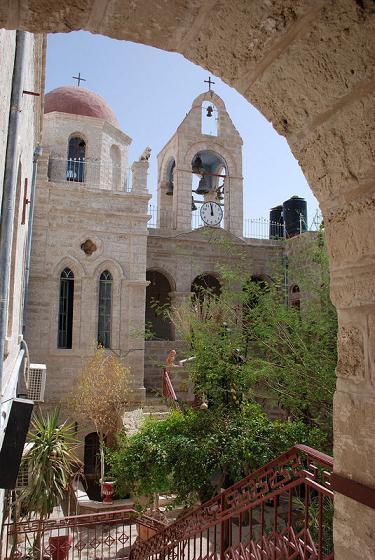 Монастырь преподобного Герасима Иорданского, Иудейская пустыня, Израиль