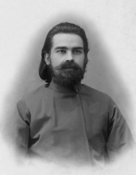 Священномученик Александр Лихарев, пресвитер (на фото еще диакон)