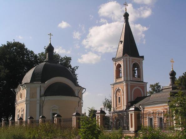 Церковь Успения Пресвятой Богородицы в Клементьеве - Сергиев Посад