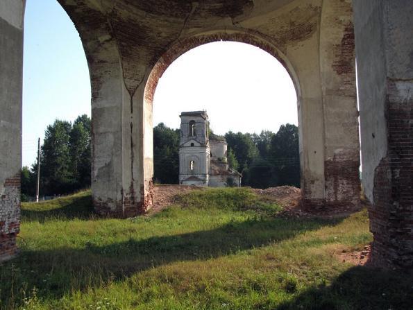 Шелтомежский Шестоковский Вознесенский монастырь, разорен в годы лихолетия