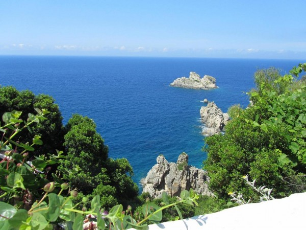 греция 1 палеокастрица море 2