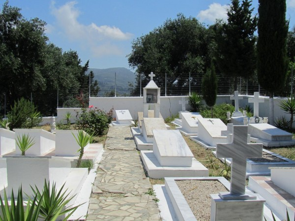 греция 1 палеокастрица кладбище