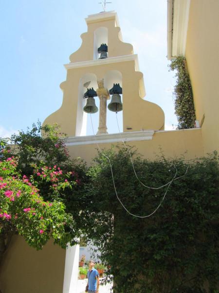 греция 1 палеокастрица колокольня