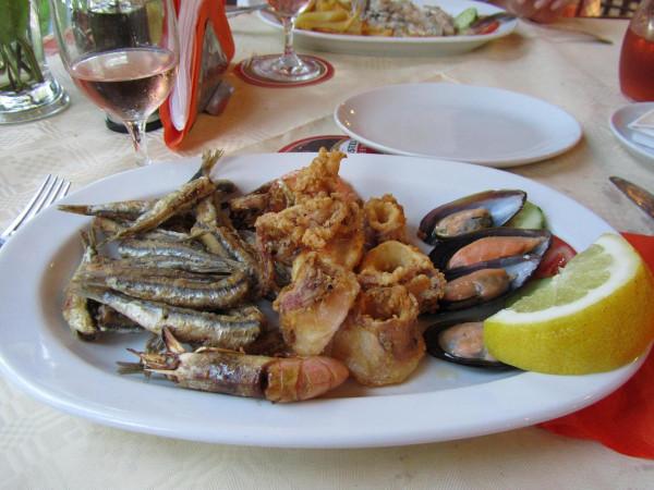 греция 1 таверна блюдо
