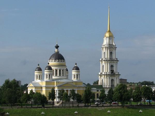 Спасо-Преображенский кафедральный собор города Рыбинска
