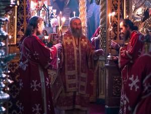 митрополиты Илларион и Онуфрий на Афоне 1