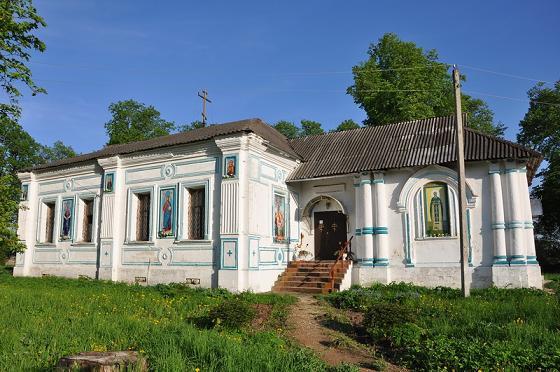 Церковь Покрова Пресвятой Богородицы в Щеглятьево
