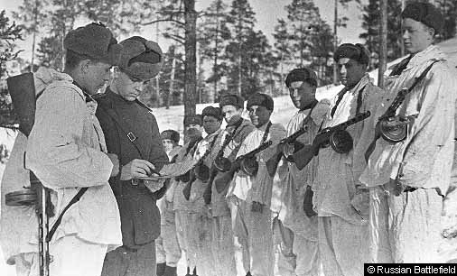 Выход на задание. 104сд, 15 Марта 1943 г.