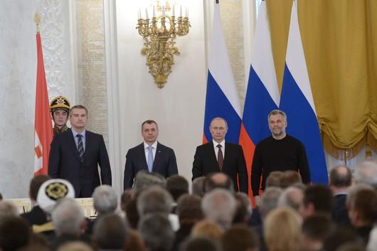 подписание договора с Крымом