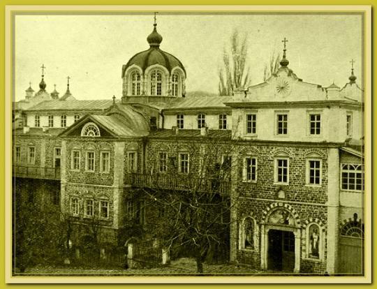 Галерея старых фотографий Андреевского скита, фото 1860-1900 годов 1