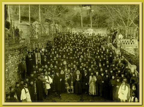 Галерея старых фотографий Андреевского скита, фото 1860-1900 годов 2