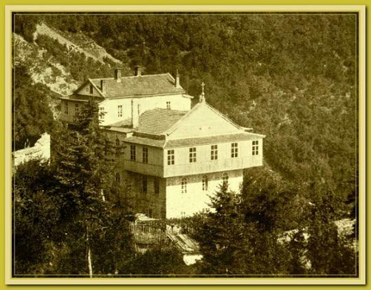 Галерея старых фотографий Андреевского скита, фото 1860-1900 годов 3