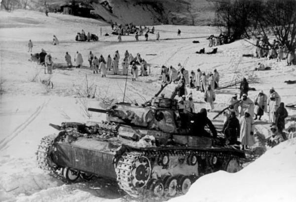21 марта 1042 года. Фашисты готовят контратаку под Старой Руссой
