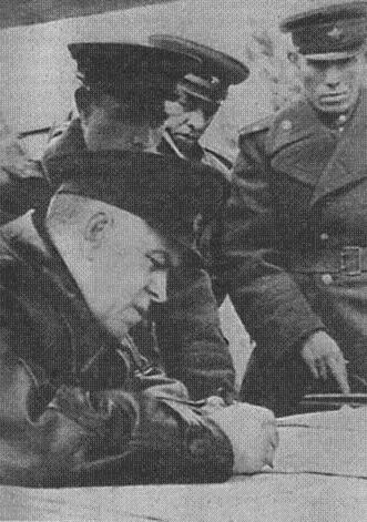Г.К. Жуков на командном пункте. Март 1945 г.