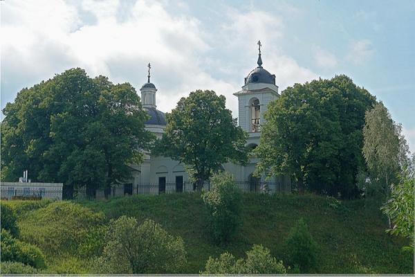 Церковь Спаса Нерукотворного Образа - Иславское - Одинцовский район, г. Звенигород