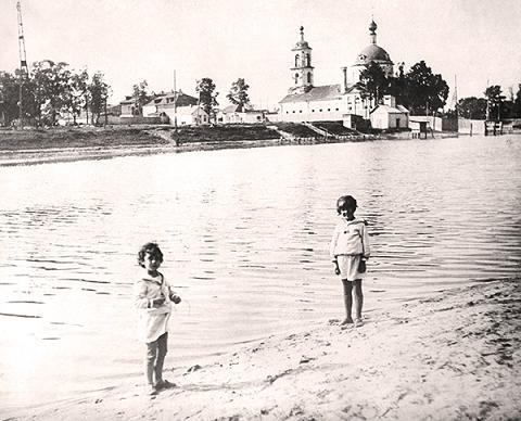 Церковь Преображения, Люберцы, фото Тюльпиной Юлии, 1934 год. Храм был взорван в 1936 году
