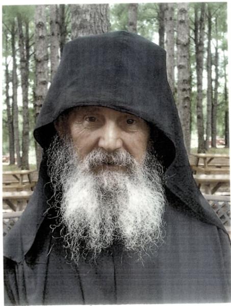 старец Ефрем Филофейский, проигумен афонского монастыря Филофей