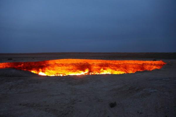 врата ада в Турменистане