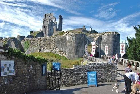 замок Корф, Англия