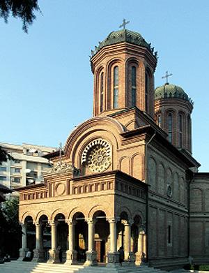 Бухарест. Собор монастыря Антим (Анфим)