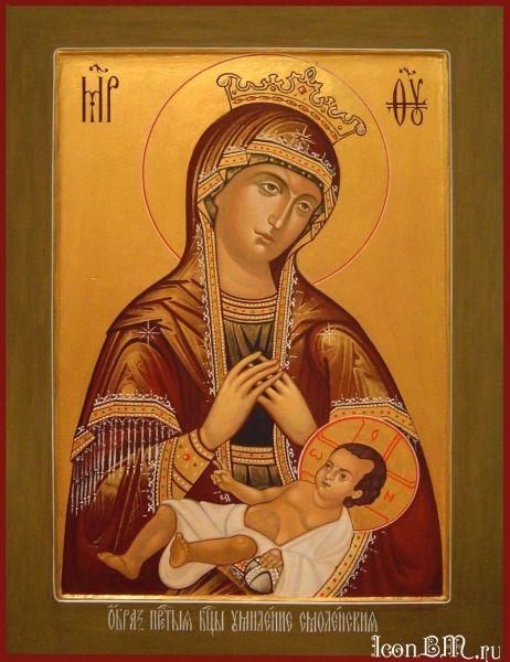 Икона Богородицы «Умиление» Смоленская