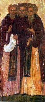 Преподобные Иоанн, Сергий, Патрикий и прочие в обители святого Саввы убиенные