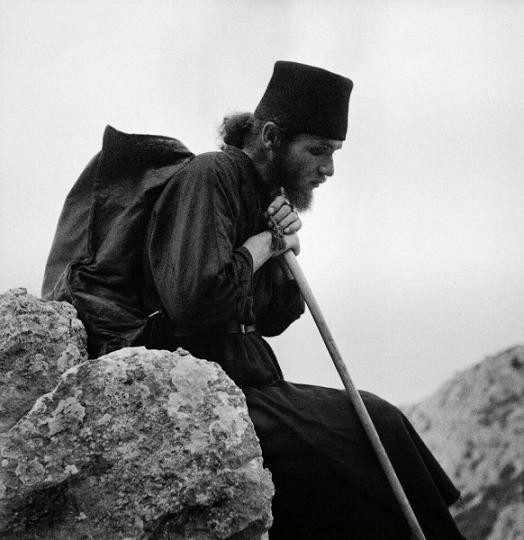 В первые десятилетия ХХ в. на Афоне появились фотографы, воспринимающие фотографию не только как средство регистрации и документального отображения, но и как искусство. Фото П. Севастьянова XIX век