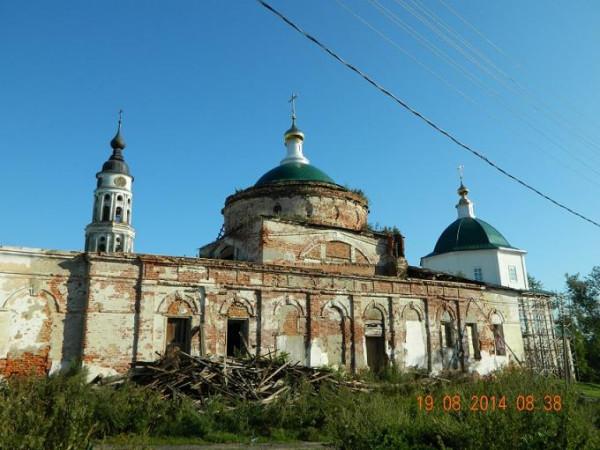 Церковь Рождества Христова - Лежнево - Лежневский район - Ивановская область