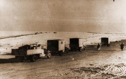 30 марта 1942 года в блокадный Ленинград прибыл партизанский обоз с продовольствием. На 223 подводах везли 28 тонн муки и более 14 тонн других продуктов