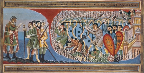 Притча о злых виноградарях, XI век