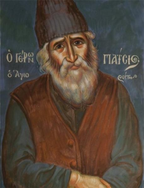 Паисий Святогорец- икона