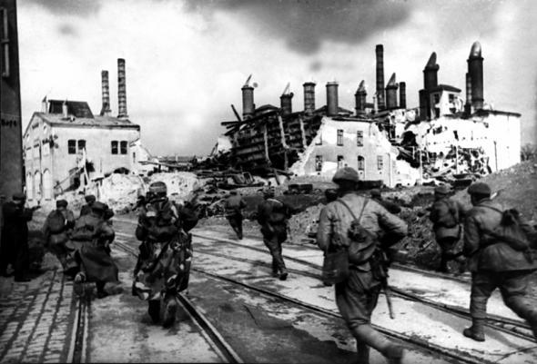 5 апреля 1945 года советские войска начали операцию по взятию Вены с юго-востока и юга