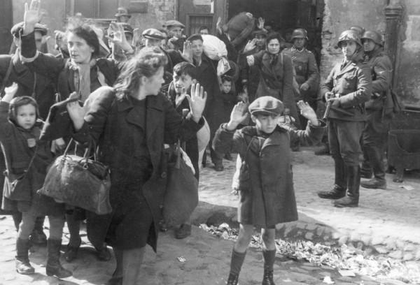 Варшавское гетто, апрель 1943 года