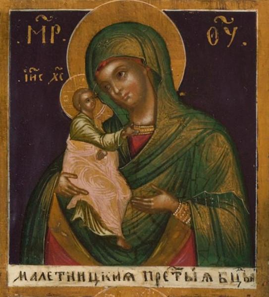 Икона Пресвятой Богородицы «Мелетинская»