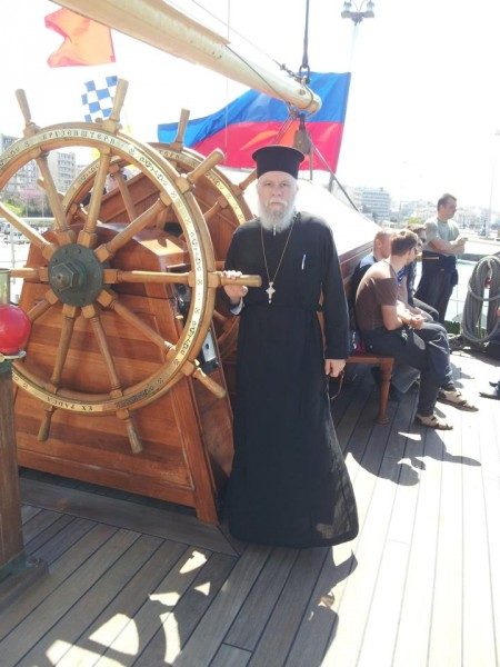 Барк Крузенштерн в порту г. Патра 1