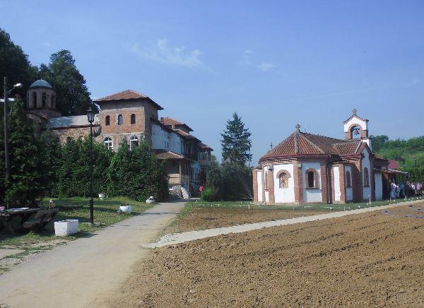 Монастырь Святого Стефана (Сербия, село Сланцы)