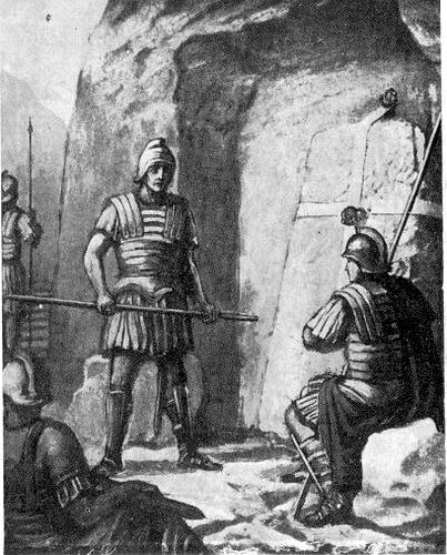 Воинская стража у гроба Господня