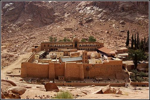Синайский монастырь св. Екатерины