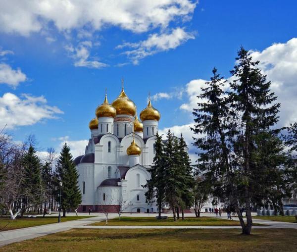 Успенский кафедральный собор г. Ярославля