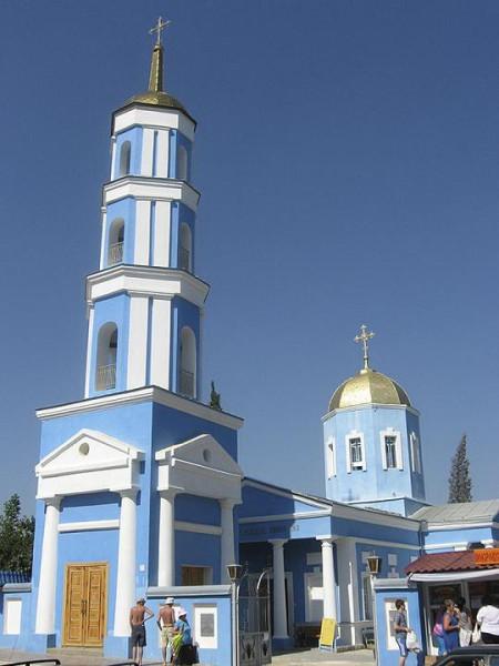 церковь Покрова Пресвятой богородицы в городе Судак